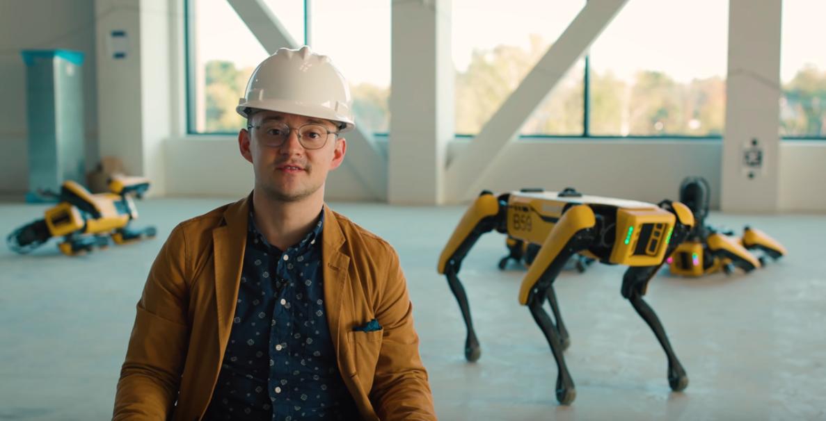 Скриншот видео Boston Dynamics